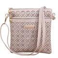 2017 Small Casual women messenger bag PU hollow out crossbody bag ladies shoulder purse  handbag bolsa feminina MU168
