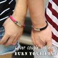 Pulseras de Cuero genuino para Las Mujeres Los Hombres Grabado ID Pulsera de Acero Inoxidable Pulsera de la Pulsera Personalizada Logotipo Personalizado