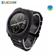 Reloj de Lujo de los hombres Inteligentes Smartwatch Reloj ZW35 Pulsómetro Rastreador De Fitness Podómetro Bluetooth Para iOS Android Hombres