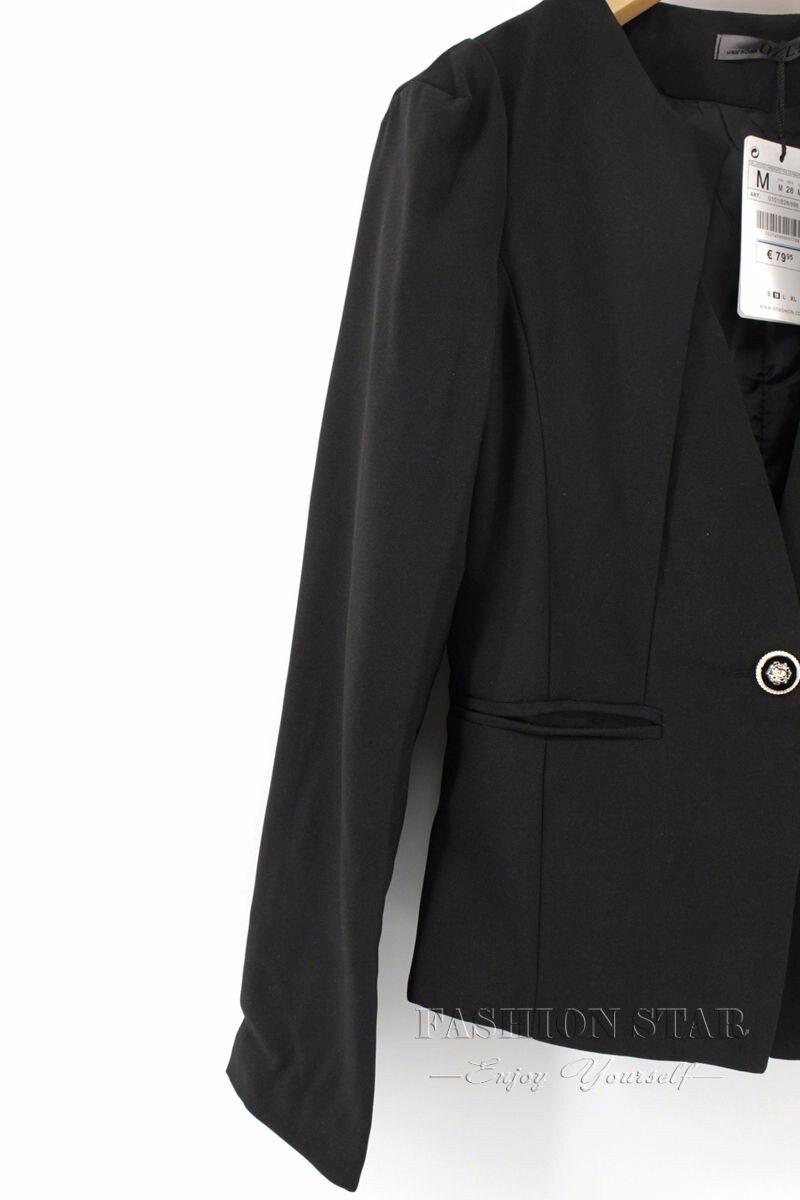 RealShe 2016 Kobiet Kurtki Długi Rękaw Garnitur Marynarka damska Marynarka Casual Mujer Feminina Plus Size Blazer Feminino Kurtki 67