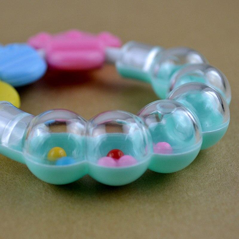 Silikon Baby Beißring Spielzeug Neugeborene Baby Beißring für - Säuglingspflege - Foto 3