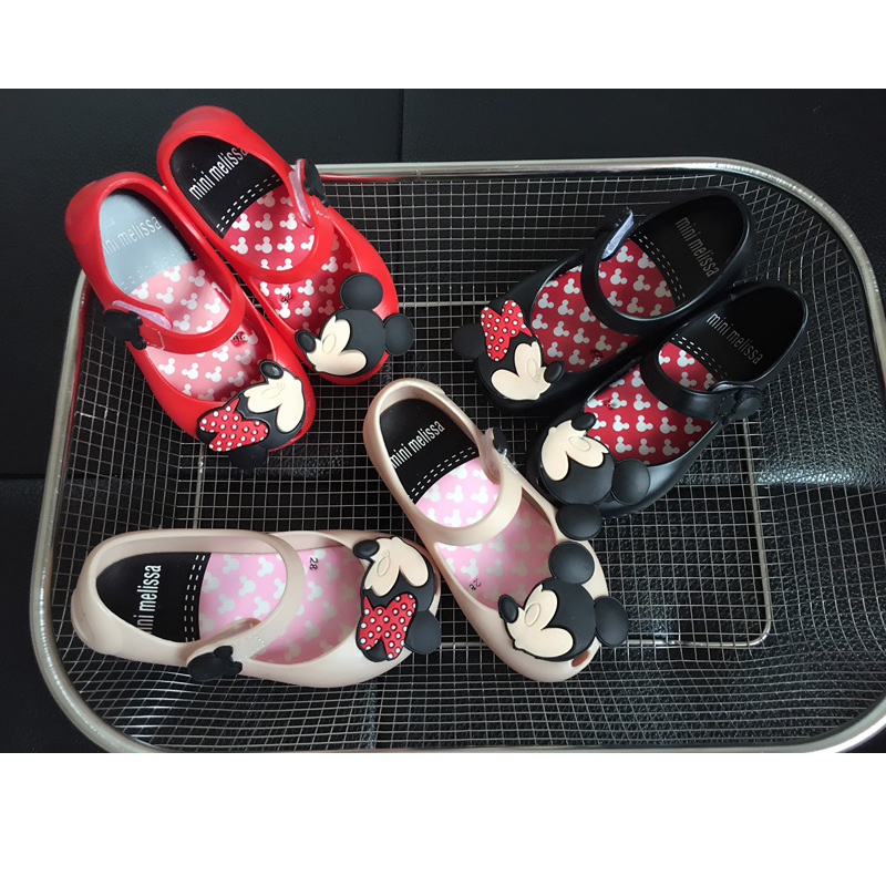 12d5da7117 Puppchen New Sandals summer cartoon mini melissa girls candy shoes Jelly  non slip shoes princess teacup sandals for girls-in Mules & Clogs from  Mother ...