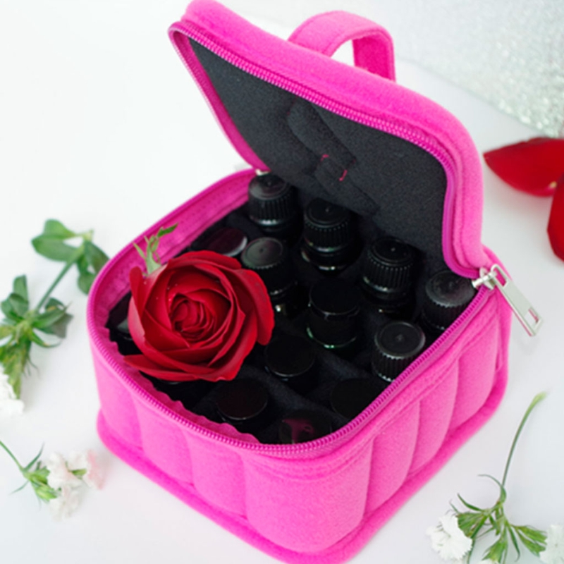 36 Slot Shockproof Essential Oil Carrying Holder Case Perfume Oil Portable Travel Storage health fair Organizer Storage Bag