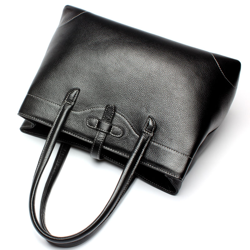 High Quality Shoulder Bags for Women Genuine Cow Leather Handbags Female Fashion Style Solid Messenger Bag