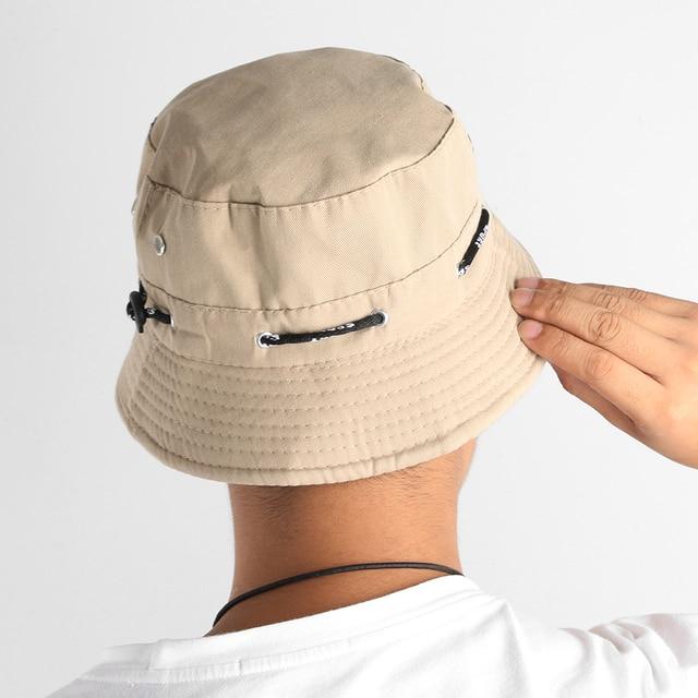 Okdeals 2018 Baru Busana Uniseks Ember Topi Boonie Berburu Perikanan Luar  Ruangan Topi Wanita Pria Musim 12716f6485