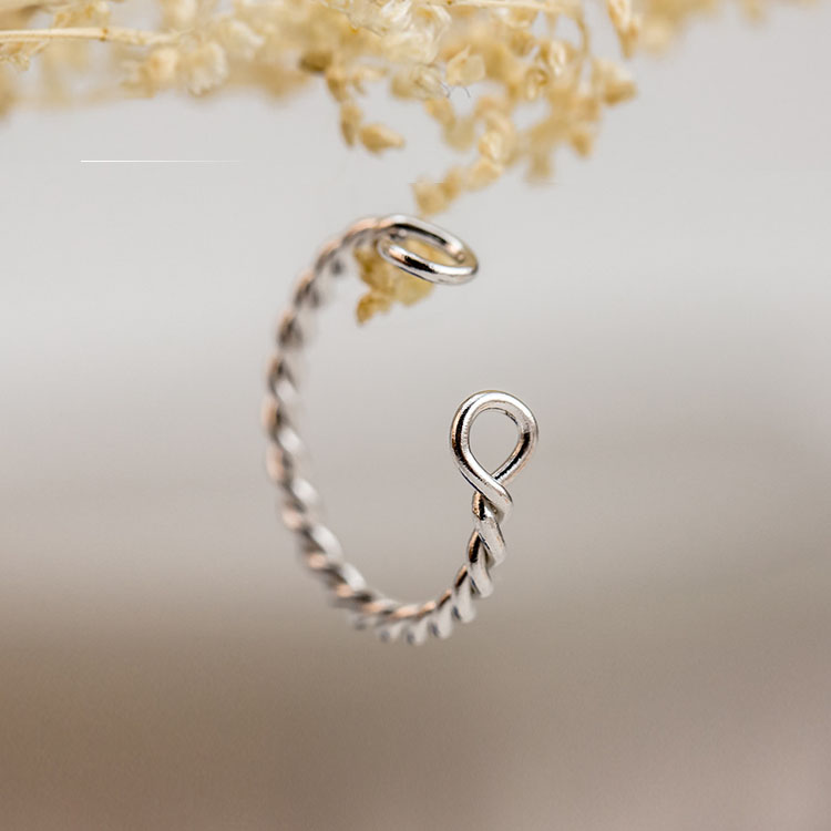925 Sterling Silver Ring Fashion Simple s
