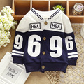 0-2T autumn baby jackets baby boys coats cardigan cotton fall children outerwear sports fashion