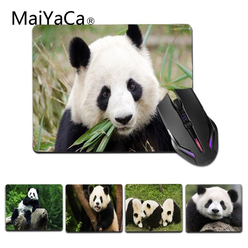 Maiyaca Нескользящие PC Симпатичные панды Китай коврик для мыши геймер играть коврики Размеры для 180x220x2 мм и 250x290x2 мм Малый Мышь коврик