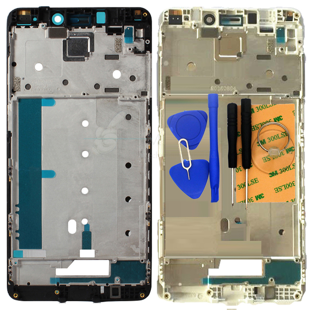 "Replace Front Frame/Bezel for Xiaomi Redmi Note4 Pro Note 4 Pro 5.5"" Bezel for LCD Screen Display No Digitizer Free Shipping"