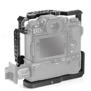 Image 4 - SmallRig DSLR Cage Fotocamera per Fujifilm X T3/per Fujifilm X T2 Fotocamera con Presa Della Batteria di Trasporto libero 2229