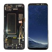100% Super AMOLED ЖК-дисплей для samsung Galaxy S8 G950F G950U G950 S8 Дисплей Сенсорный экран агрегат + рамка 5,8 «Замена + Инструменты