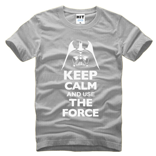 Keep Calm And Use The Force Star Wars T-Shirt (6 Colors)