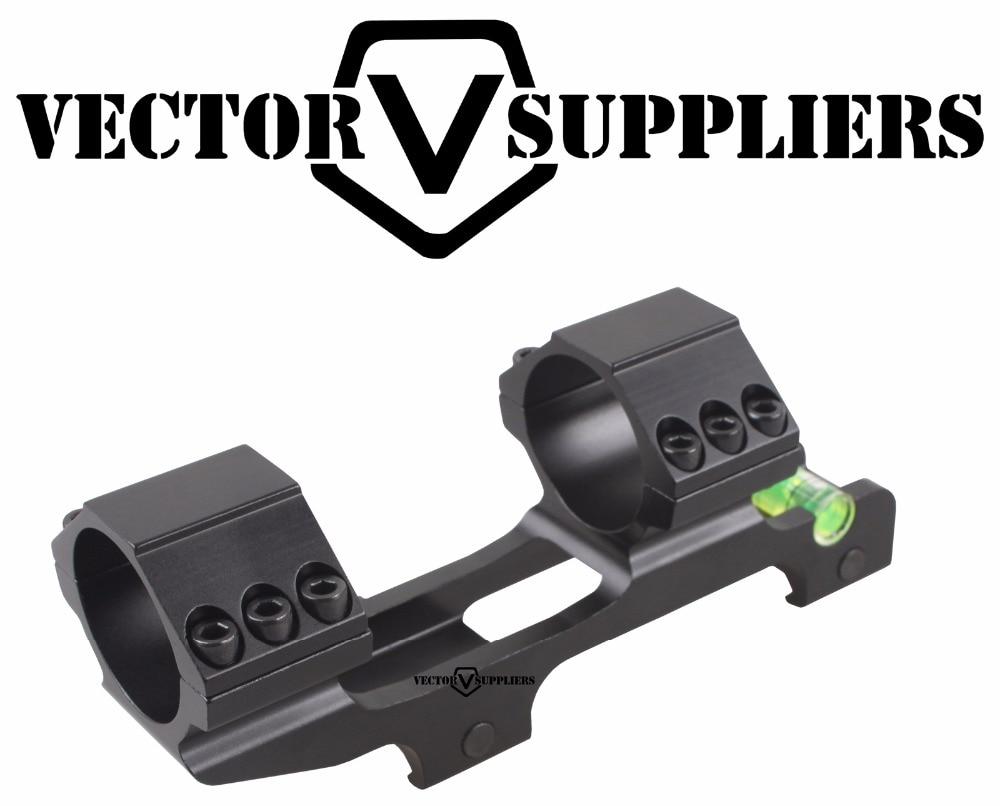 Вектор Оптика 30 мм консольные прицел Анти-косяк устройства ACD пузырьковый уровень крепление с 1 дюймов переходное кольцо 139 мм кронштейн