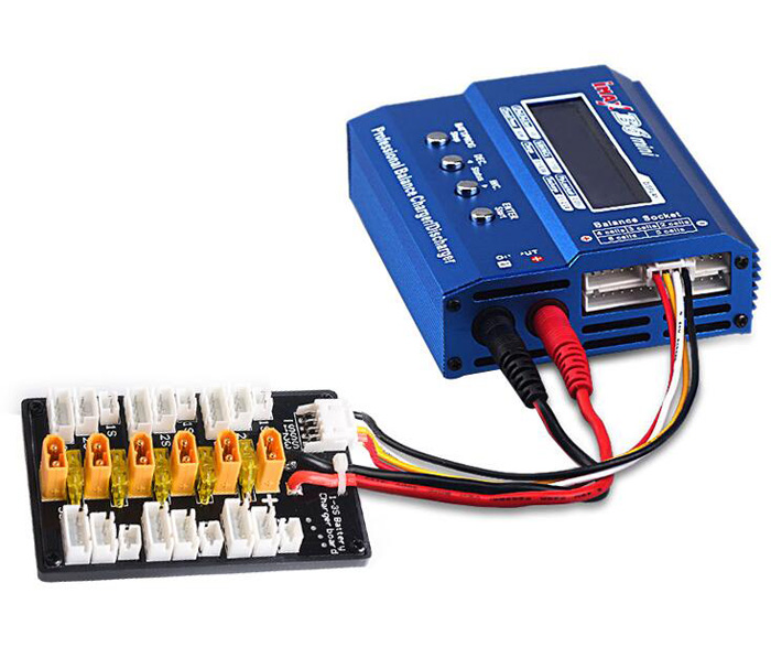 Imax B6 Expansion board XT30 plug parallel charging plate 1S-3S battery charger board B6AC Lipo balance conversion panel parts