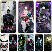 Luxury Marvel Avengers Venom Joker For huawei Y5 II Y6 II Y5 Y6 Prime Nova 2 3 3I Plus 2018 2017 case Cover pattern Coque Etui все цены