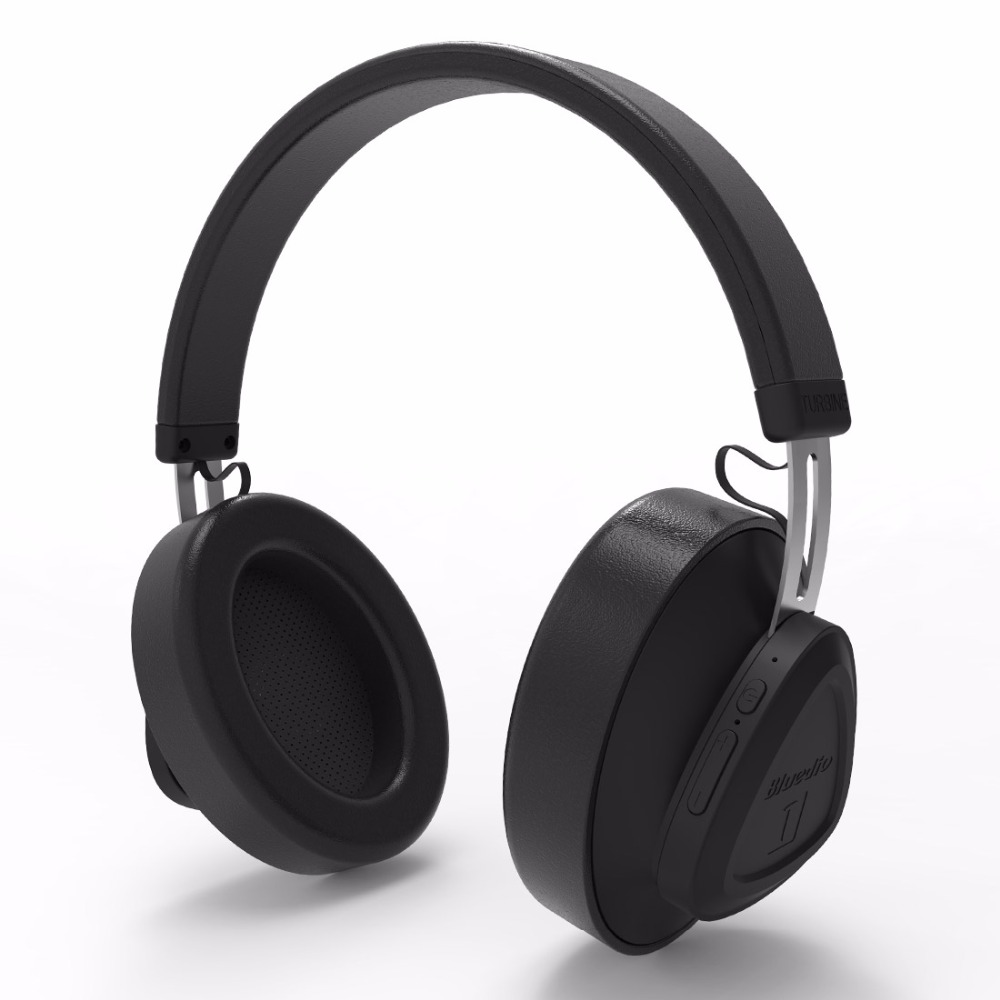 Bluedio TM wireless bluetooth headphone with microphone monitor studio headset for music and phones support voice control