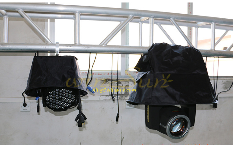 Raining Snowing Cover waterproof raincoat for beam moving heads beam moving head lighting accessories (5)
