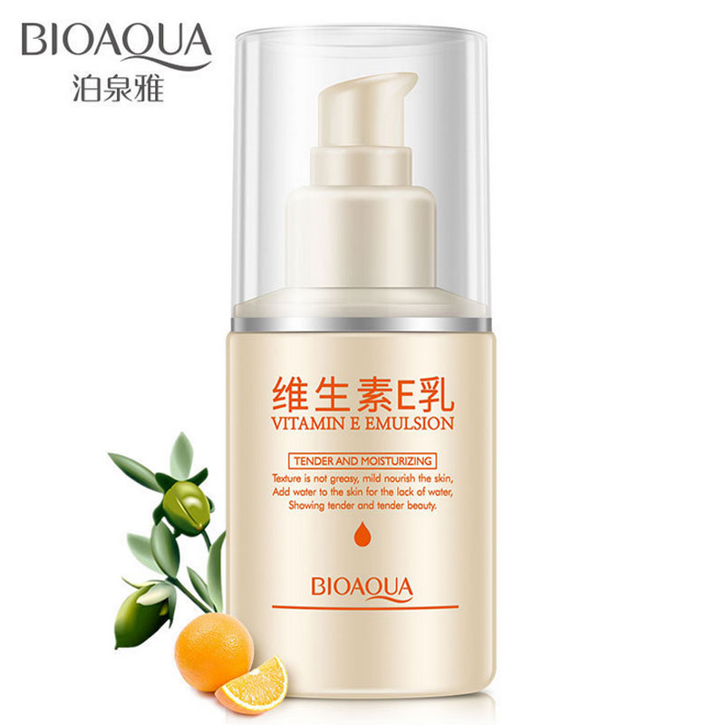 Bioaqua Vitamin E Face Cream Anti Wrinkles Skin Care Day Creams & Moisturizers Night Cream Emulsion Lotion Beauty Make Up Lotion