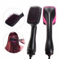 Professional Electric Hair Comb Straightener Brush Hair Dryer for Women & Men Negative ions Hairbrush Comb