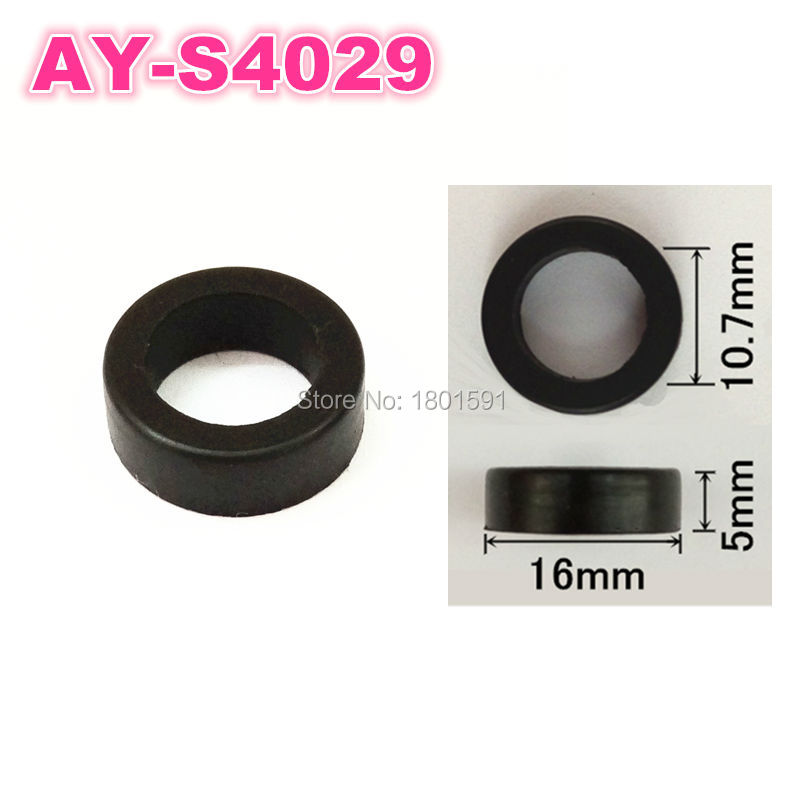 Fuel injector rubber seals for fuel injection repair kits 500pieces  hot wholesale free shipping (AY-S4029)Fuel injector rubber seals for fuel injection repair kits 500pieces  hot wholesale free shipping (AY-S4029)