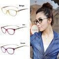 Мода Cheetah Earstems очки кадров Женщины Дамы Leopard Декоративные Очки Для Чтения кадров Нет Степень