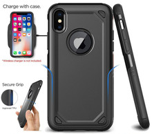 Power Armor Ultra-Thin Solid protective  Phone Case For iPhoneX XRShockproof TPU+PC Rugged  Phone Case For iPhone7 8 6 6S Cover