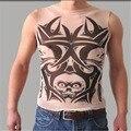 Mens colete Undershirt Ativo Corpo Stocking Tatuagem underwear Colete Sportswear Homens Tanque Impresso Tops