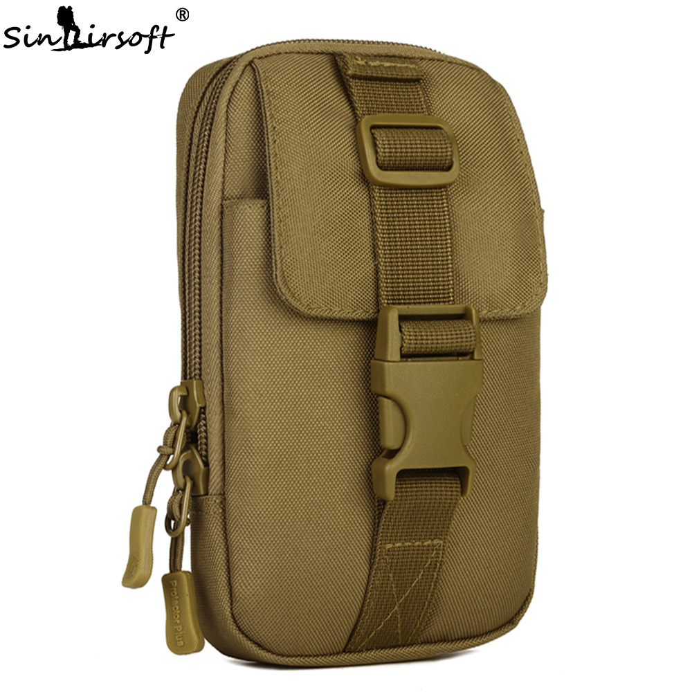 New Arrival SINAIRSOFT MOLLE System accessory bag Fishing Climbing Bags Tactical Pouch Army Durable Travel Hiking