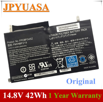 7XINbox 14.8V 42Wh 2840mAh Original FMVNBP219 FPCBP345Z FPB0280 Laptop Battery For Fujitsu LifeBook UH572 UH552 Ultrabook battery for fujitsu siemens amilo xi2428 pi2530 pi2540 pi2550 battery for p55 3s4400 s1s5 g1s2 05 unwill p55im p75im