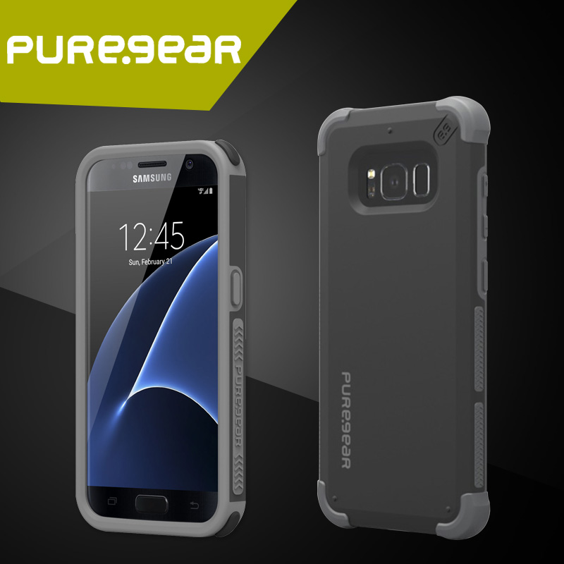 premium selection 35561 dd183 US $20.53 |Puregear Premium Outdoor Anti Shock DualTek Extreme Shock Case  for Samsung Galaxy S8 / S8 Plus / S7 with Retail Packaging-in Fitted Cases  ...