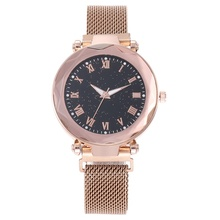 Luxury Ladies Watch Magnetic Starry Sky Female Clock Quartz Fashion Roman Numerals Reloj Mujer Relogio Femini