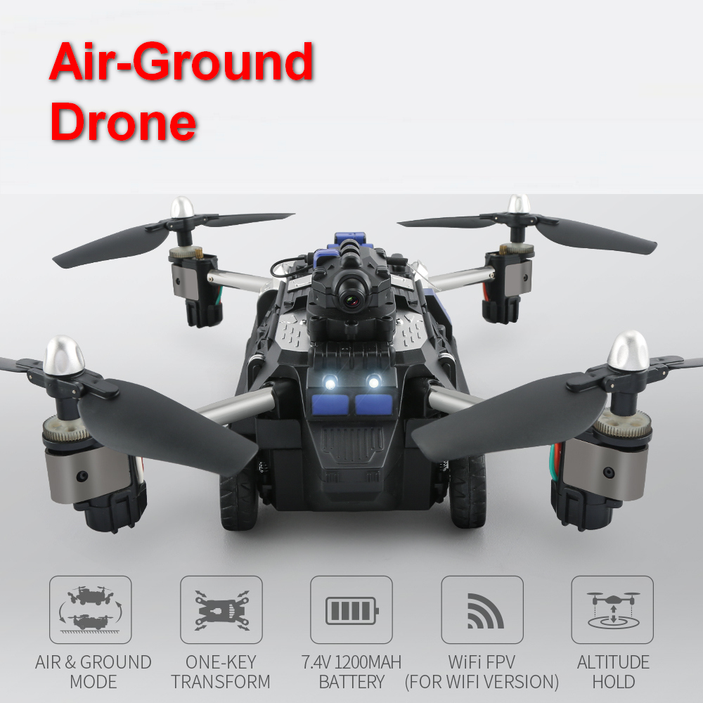 JJRC H40 Air-ground rc Dron  Quadrotor  Wireless Remote Control Helicopter RC Drone Toy for children Gift quadcopter quad copter jjrc h33 mini drone rc quadcopter 6 axis rc helicopter quadrocopter rc drone one key return dron toys for children vs jjrc h31