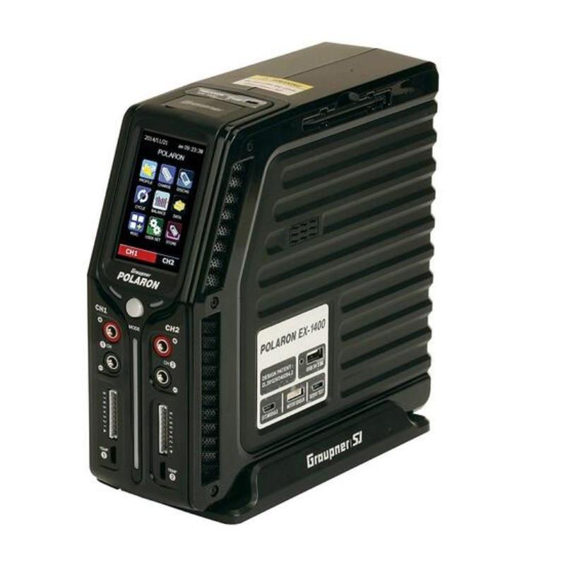 Graupner Polaron EX 1400 Desktop Battery Charger Black graupner des 708 bb mg