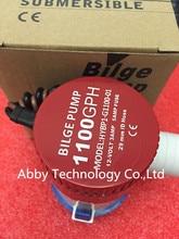 Chất lượng cao 100% NEW bilge pump 12 v 1100gph 12VDC quy tắc nước bơm được sử dụng trong thuyền thủy phi cơ động cơ nhà houseboat