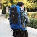 70L À Prova D' Água camping caminhadas Escalada Montanhismo Mochila Impermeável Ao Ar Livre Sacos de Viagem Para Caminhadas Mochila 5 Cores