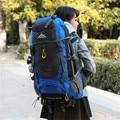 70L Водонепроницаемый отдых туризм Восхождение Водонепроницаемый Альпинизм Рюкзак Открытый Дорожные Сумки Походы Рюкзак 5 Цвета