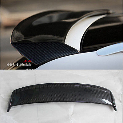 A3 Carbon Fiber Rear Roof Lip Spoiler Wing for Audi A3 Standard 2006-2012 Auto Car Styling carbon fiber auto car rear trunk wing lip spoiler for audi for a3