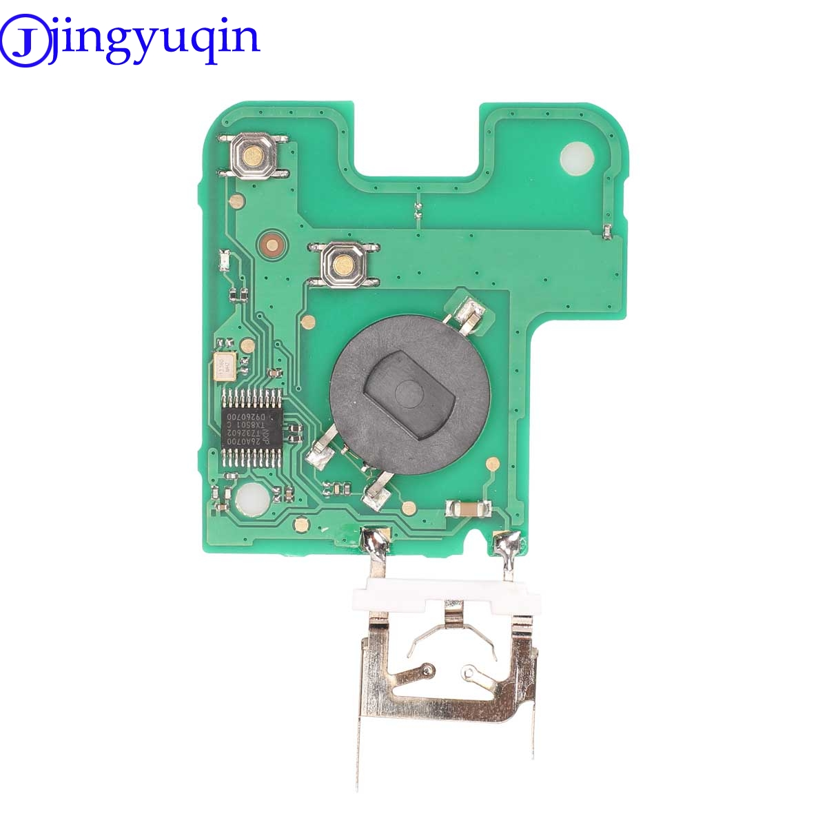 Image 4 - jingyuqin 433 MHz Pcf7947 Chip 2 Buttons Remote Car Key Card Shell Case With Blade For Renault Laguna with Uncut Key Blade-in Car Key from Automobiles & Motorcycles