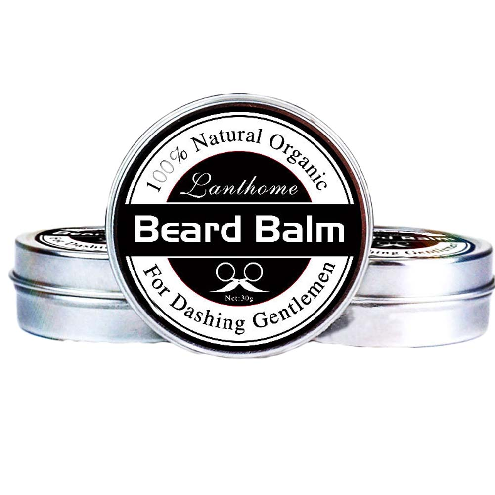 Men Natural Beard Oil Balm Moustache Wax for styling Beeswax