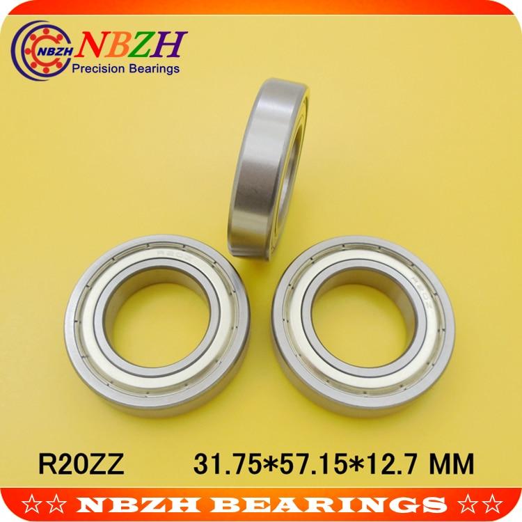 R20 R20ZZ R20 ZZ дюймовый подшипник 31,75*57,15*12,7 мм миниатюрный R20 RS R20-2RS
