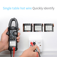 New CM80 Digital Clamp Meter Multimeter Current Clamp Pincers AC/DC Voltage Resistance Tester Measuring Tools