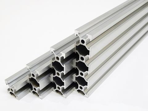 m5 tapped 2080 aluminum v slot profile extrusion in 3d printer parts