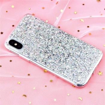 iPhone Xs Bling Glitter Case