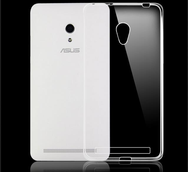 Ultra Thin Crystal Clear Case For Asus Zenfone 6 Z002 A600CG A600K T00G