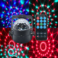 3W remote control RGB crystal magic ball soundlights DJ disco party music ball light laser light projector stage effect lighting
