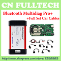 Single Green PCB Board V2015.03 TCS CDP Bluetooth Multidiag Pro+ for Cars/Trucks OBD2+ Full Set Car Cables by DHL Free Shipping