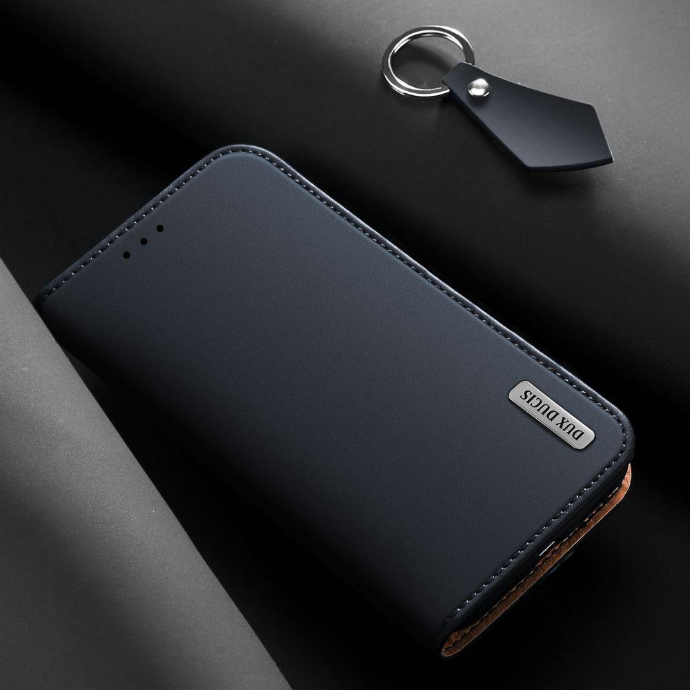 Luxuoso Estojo De Couro Genuíno Para Samsung Galaxy S8 S9 Plus S10 S10E Nota 8 9 Slot Para Cartão Wallet Flip Magnético capa Bumper Coque