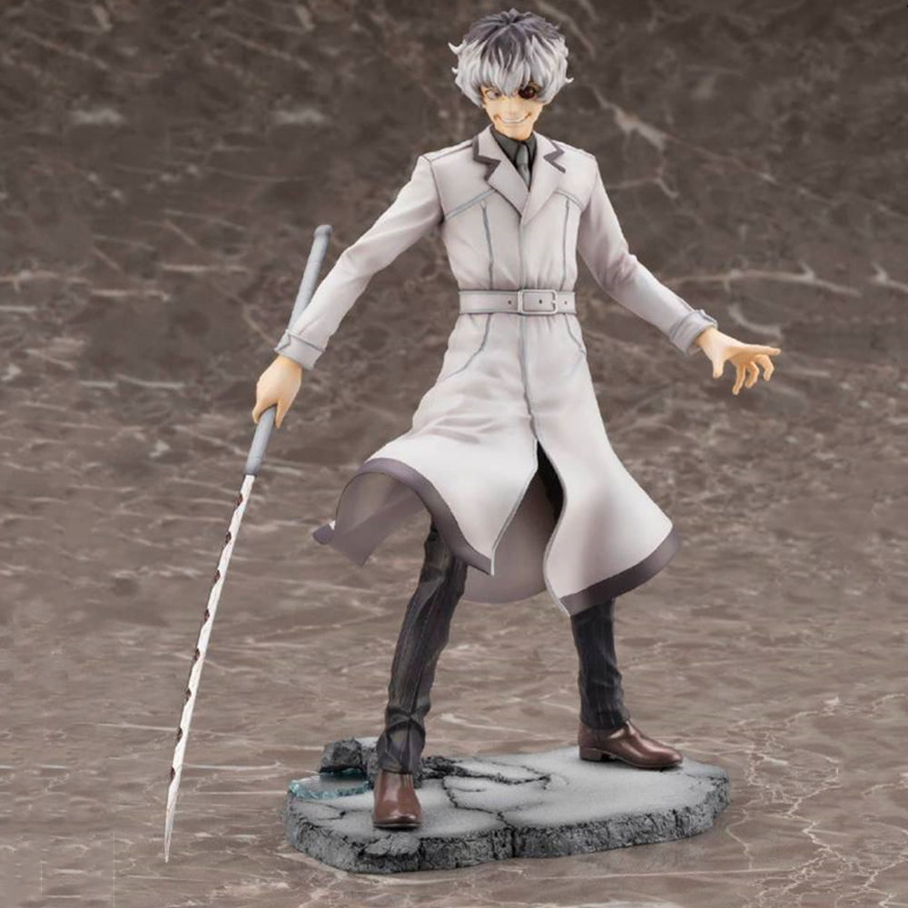 Tokyo Ghoul Figure d'anime KOTOBUKIYA Re Haise Sasaki ARTFX J Statue Kaneki jouets pour adulte modèle de collection Juguetes Action Figma