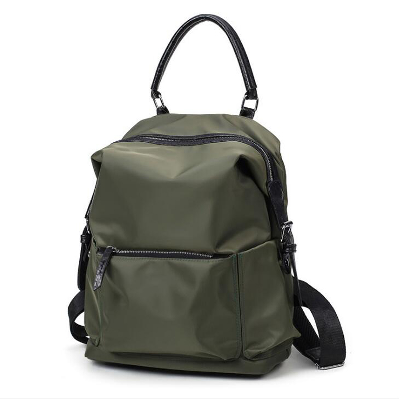 2021 New Large capacity Travel Backpacks Women Multi-function Oxford cloth water-proof Bags School Backpack Black Green ZJB34