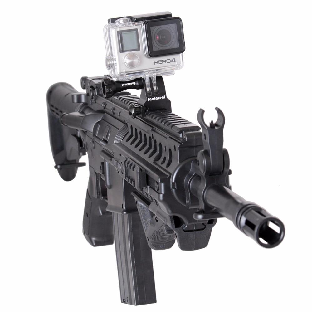 Fantaseal Picatinny Gun Rail Mount Airsoft Gun Shotgun Adapter för - Kamera och foto - Foto 4